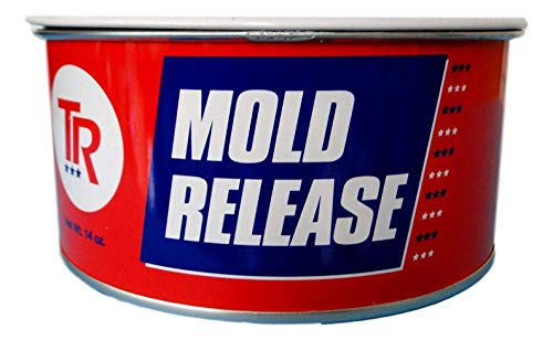 TR 104 Mold Release High Temperature Paste Wax 14 Ounce can