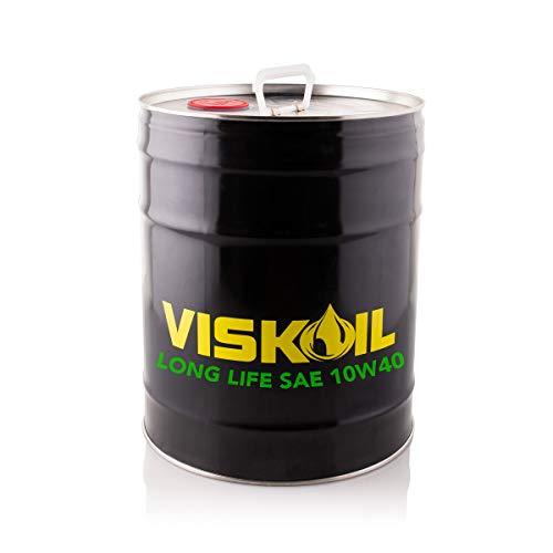 Lubrificanti Viskoil VISK10W4020LT 20 litros Aceite 10w40 para Motores Diesel y Gasolina