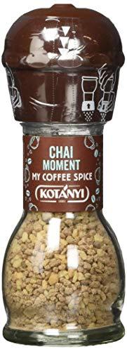 Kotanyi Chai Moment Kaffee Topping | wundervolle Aromen von Zimt und Cardamom, 4er Pack (4 x 50g)