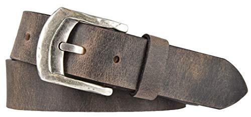 Mytem-Gear riem leer 4 cm jeansriem lederen riem herenriem buffelleer in te korten