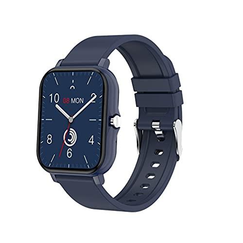 H20 Wireless Smartwatch Sport Fitness Pulsera Full Touch Pulsera Cuadrada Azul