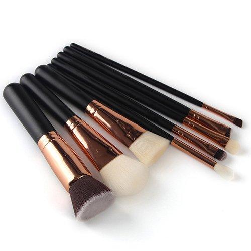 8 pcs/set Professional œil visage Poudre Fond de Teint Lot de brosse Cosmétique de maquillage