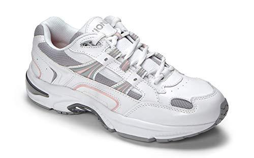 Vionic Women's Walker Classic Shoes, 9 B(M) US, White/Pink