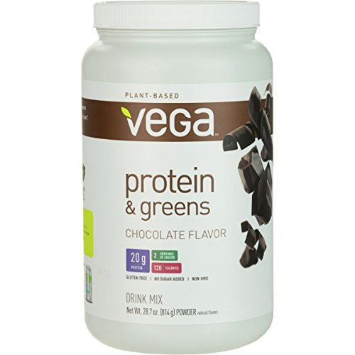 Vega Protein and Greens Chocolate, 518 g