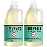Mrs. Meyer's Clean Day Liquid Laundry Detergent, Cruelty Free and Biodegradable Formula, Basil...