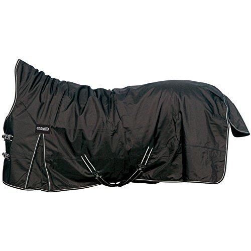 CATAGO Outdoordecke Justin für Pferde, 150g - schwarz - 155 cm