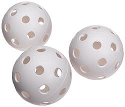 White Plastic Baseballs