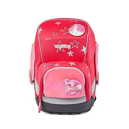 ergobag Zubehör Pack/Cubo/Cubo Light Sicherheitsset 3-tlg. fluoreszierend pink