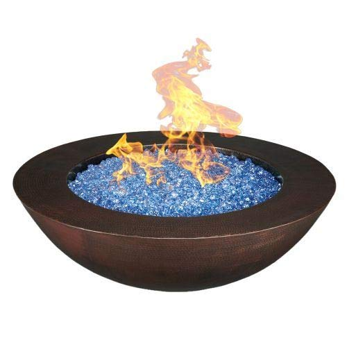 Affordable Oreq 54 x15 Luna Fire Pit with Electronic Ignition - NG