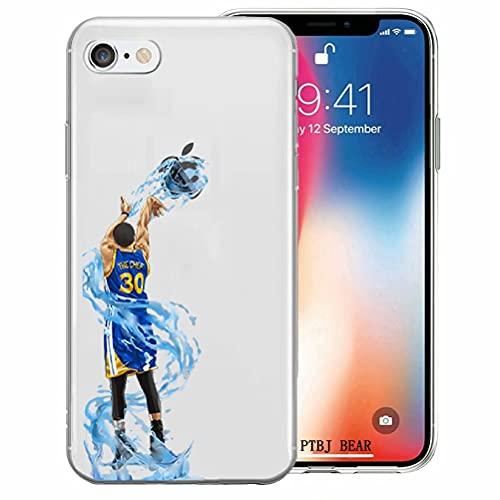 BAI JING Coque pour iPhone 7/8, Coque en TPU Ultra-Transparente et Anti-Rayures [LZX20190552]