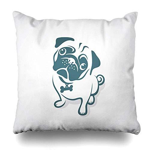 Mengghy Funda de almohada para mascotas, diseño de gato negro, ojos grandes, mirando la vida silvestre, dibujo ataque, diseño gráfico con cremallera, tamaño cuadrado, 45 x 45 cm, decoración del hogar