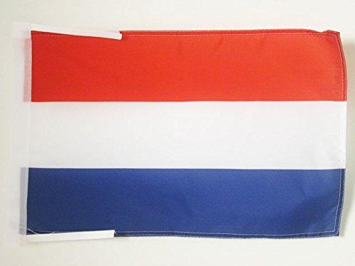 AZ FLAG Flagge NIEDERLANDE 45x30cm mit Kordel - HOLLÄNDISCHE Fahne 30 x 45 cm - flaggen Top Qualität
