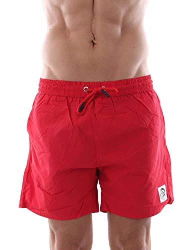 Diesel Herren BMBX-CAYBAY Shorts Badehose, Formel Rot, Small