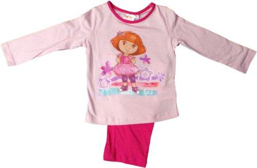 Dora Schlafanzug - Dancing Dora - Pink/Rosa