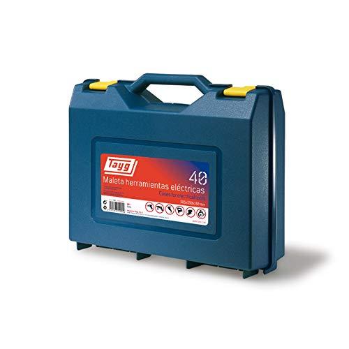 Electraline 140006 Werkzeugkoffer, leer, 385 x 330 x 130 mm
