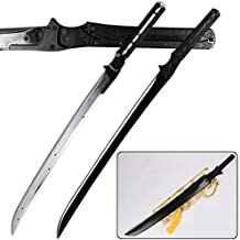 Kawashima_sword for Metal Gear Rising Revengeance Raiden High Frequency Full Tang Carbon Steel Sword for Collectible Cospl...