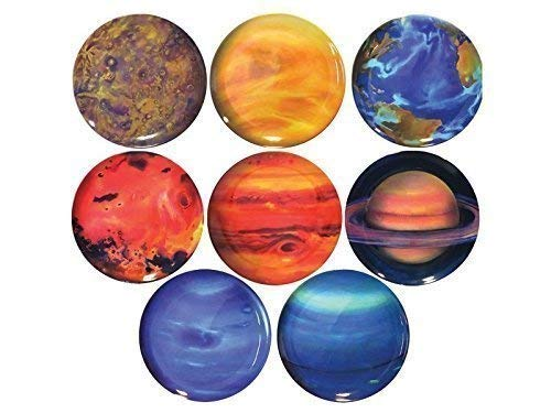 Pfiffig-Wohnen Planeten-Teller, 8 Stück