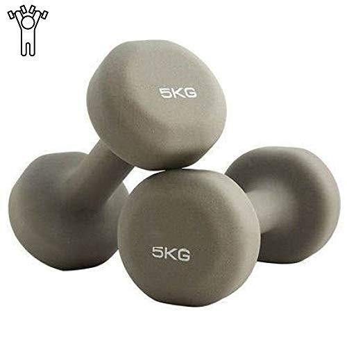 Kurzhanteln, Beschichtete Hanteln Aus Gusseisen Gewichte, Gewichte Fitness Home Gym Übung Langhantel Handgewicht,10kg