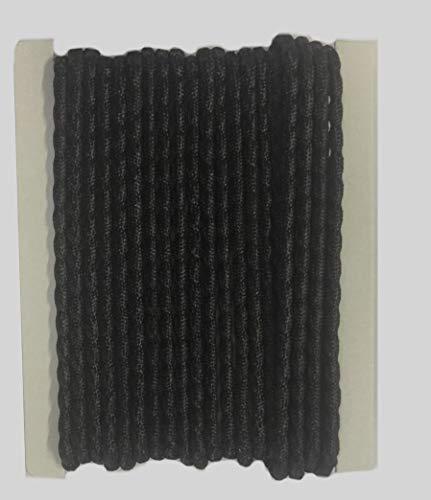 Efitex® Bleiband schwarz 50g/m - Bleiband zur Beschwerung von Gardinen und Stores Gardinenbeschwerung (5)