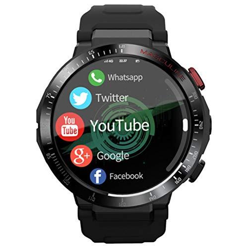 HJKPM APPLLP Smartwatch, HD 8 Millones De Píxeles Reloj Inteligente 4G Ranura para Tarjeta SIM Incorporada Y Soporte para Conexión 4G Y Llamadas Telefónicas Manos Libres
