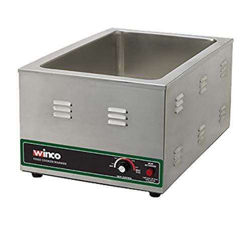 Winco FW-S600 Electric Food Cooker/Warmer, 1500-watt,Stainless Steel,Medium