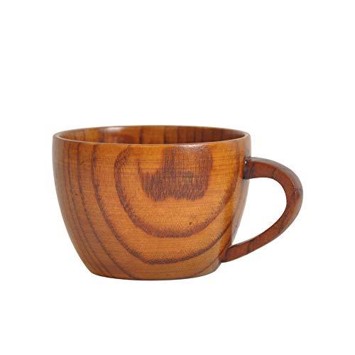Pioneer Clan 210ML Holz Kaffeebecher,Holz Trinkbecher,aus Holz Kaffeetasse