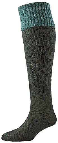 SealSkinz(シールスキンズ) 完全防水 ロング丈ソックス Country Sock ヘザーグリーン 1111411 HGRN M
