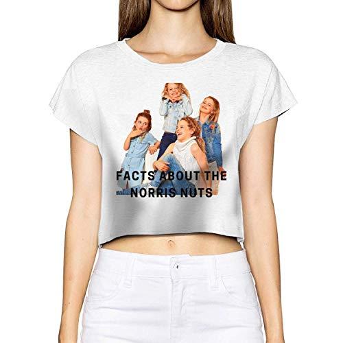 maichengxuan Norris Nuts - Camiseta para mujer, 100% algodón, diseño de fugas