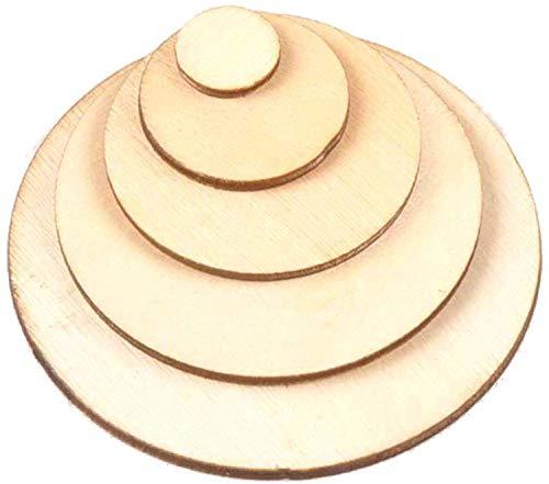 4mm Runde Holzscheibe Rund Holz Scheiben Kreis Sperrholz Basteln Deko (Stärke/Dicke 4mm, Ø 200mm)