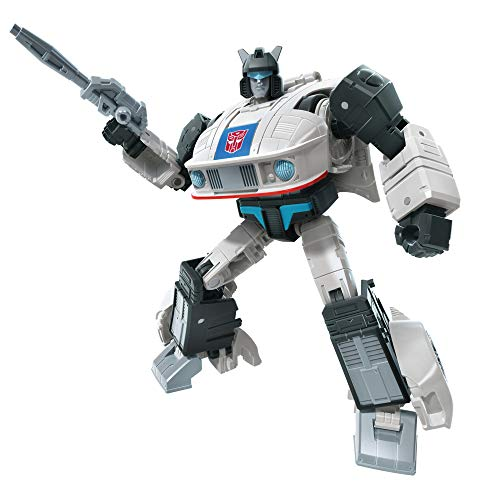 Transformers Toys Studio Series 86-01 Deluxe Class The The Movie 1986 Autobot Jazz Action Figure - Ages 8 and Up, 4.5-inch