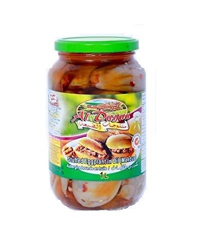 Excellent Al Dayaa Makdous Stuffed Baby Eggplant in 35 Glass Oil Max 51% OFF Jar 1 N.W