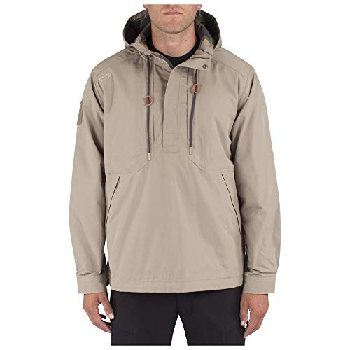 5.11 Men's Taclite Anorak Jacket, Stone, Large