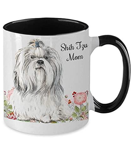 NA Shih Tzu Mom Dos Tonos Regalo del Perro de