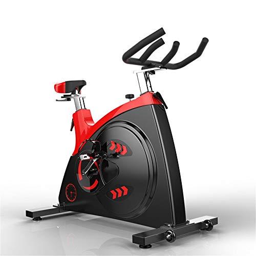 Yuefensu Bicicleta Cubierta Deportes Bicicleta estática for Bicicleta cómodo cojín de Asiento Multifuncional puño del Manillar (Color : Black, Size : 118x58x105cm)
