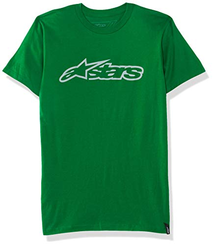 Alpha Blaze Tee Maglietta, Verde (Green (Kelly Green/Grey), S Uomo