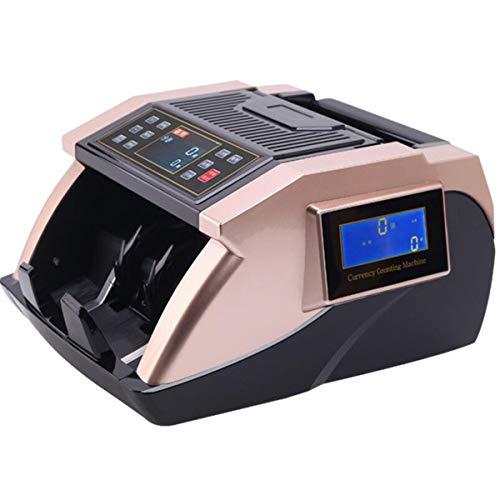 BYCDD Counterfeit Detection Rilevatore di Banconote False, Money Detector Display LCD UV/MG/IR Verificatore banonote False conteggio Automatico,A_32X28X19CM
