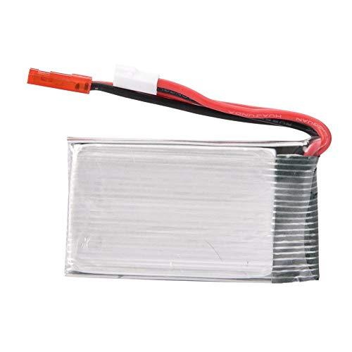 Dilwe RC LiPo-Batterie, ENGPOW 3,7 V 1000mAh 25C JST-Stecker wiederaufladbare LiPo-Batterie für RC Auto / Flugzeug / Boot( 6 Stück)