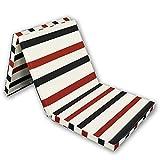 BJH Colchón Plegable de 8 cm de Espesor, colchón Triple Plegable, Silla Plegable para Invitados, Cama Z para Adultos y...