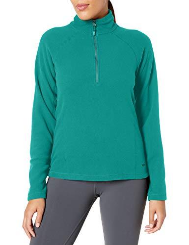 Marmot Rocklin 1/2 Zip Jacke, Damen, Rocklin 1/2 Zip Jacket, Tiefer Dschungel, X-Small