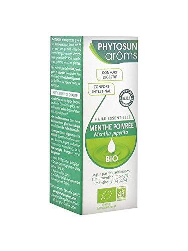 Phytosun - Huile Essentielle De Menthe Poivrée - Flacon De 10 Ml