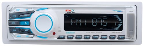 Industry No. 1 BOSS AUDIO MCK1306W.6 Marine Single-DIN with Genuine Receiver Mechless 2