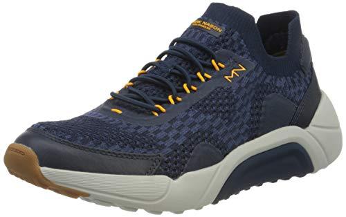 Skechers Enduro-Silverton, Zapatillas Hombre, Multicolor (Nvgy Olive Wool Knit/Gray Bottom), 41 Eu
