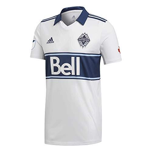 adidas Sport Herren Vancouver Whitecaps Trikot Home 19/20 Weiss DP4809 716740