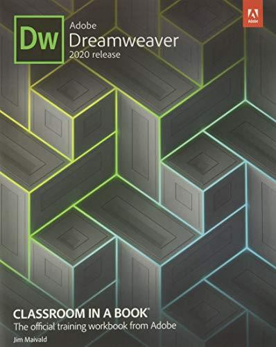 Adobe Dreamweaver Classroom in a Book 2020 Release