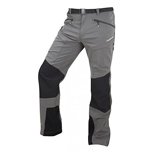 Montane Super Terra Super Terra Pantalon pour Homme Noir Phantom Taille M Petit Argenté Mercure
