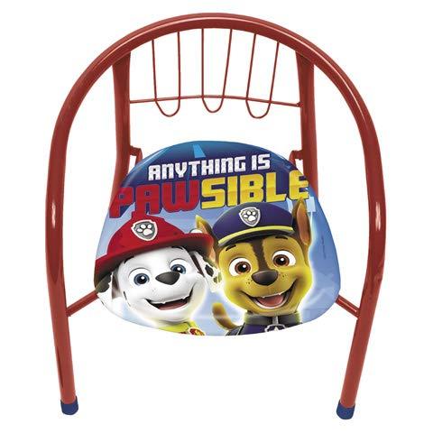 familie24 Kindersessel gepolstert Auswahl Klappsessel Sessel Stuhl Hocker Sofa Kindersessel Kinderstuhl metallsessel Peppa Pig Paw Patrol Micky Minnie Maus (Paw Patrol)