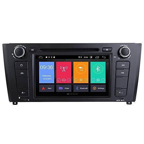 ZLTOOPAI per BMW E81 E82 E87 E88 1 Serie Android 10 Autoradio Stereo Navigazione GPS Audio Stereo 7' IPS Media Player Supporto DSP Backup Camera DVR OBD TPMS