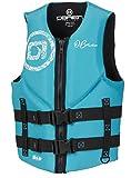 O'Brien Women's Traditional Neoprene Life Jacket, X-Small, Aqua