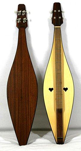 Musikalia Dulcimer Hourglass Folk, für Geigenbauer, Resonanzboden gelocht