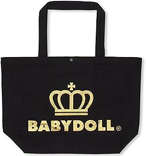 BABYDOLL(ベビードール) 王冠ロゴトートバッグ プレミアム Lサイズ ゴールド